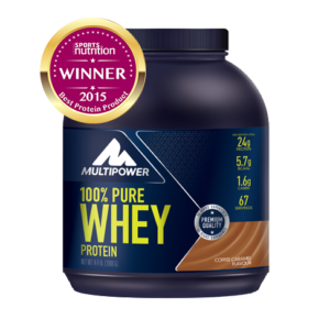 Аминокислоты Multipower 100% Whey Protein Coffee Caramel 2000гр