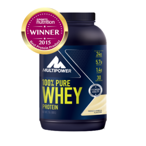 Аминокислоты Multipower 100% Whey Protein Vanila 900 гр