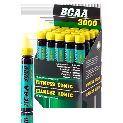 Аминокислоты в ампулах BCAA 3000 20х25мл Персик