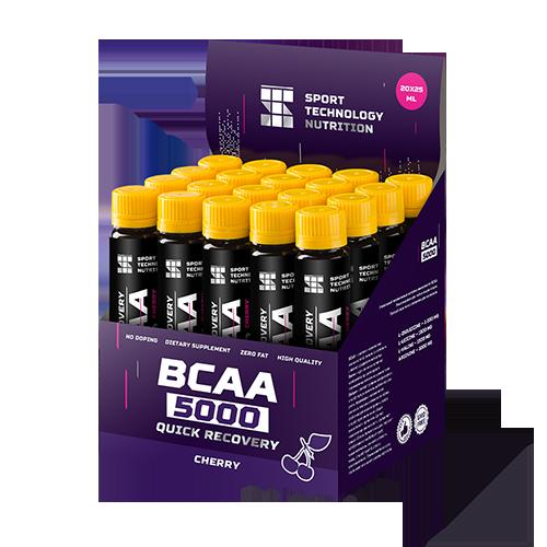 Аминокислоты в ампулах BCAA 5000 20х25мл Вишня