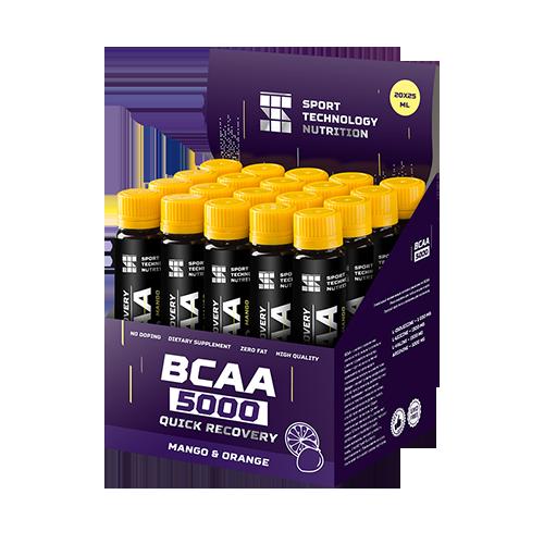 Аминокислоты в ампулах BCAA 5000 20х25мл Манго-Апельсин