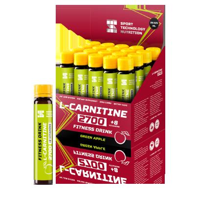 Ампулы L-Carnitine 2700 20х25мл Зеленое яблоко