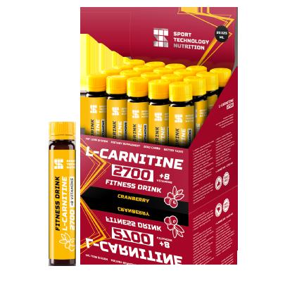 Ампулы L-Carnitine 2700 20х25мл Клюква